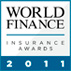AXA logo world finance