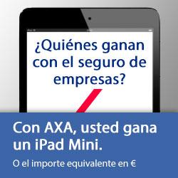 ¡Con el seguro de empresa, gana un iPad Mini!