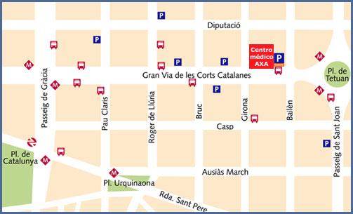 Mapa Salud AXA